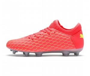 Chaussures de football Puma Future 5.4 FG/AG Orange/Jaune Junior