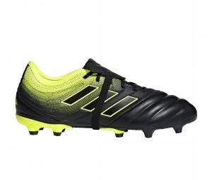 Chaussures de football adidas Copa Gloro 19.2 FG Noir/Jaune