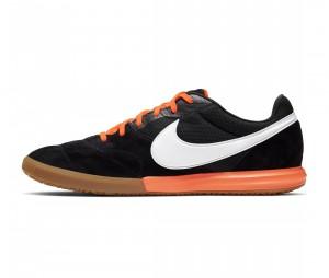 Chaussures de football Nike Tiempo Premier II Sala IC Noir