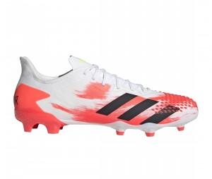 Chaussures de football Predator mutator 20.2 FG Blanc/Rouge