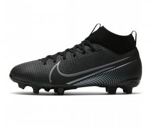 Chaussures de football Nike Mercurial Superfly VII Academy DF MG Noir Junior
