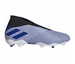 Chaussures de football adidas Nemeziz 19.3 LL FG Bleu/Blanc