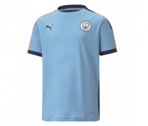 Maillot Entraînement Manchester City Bleu Junior