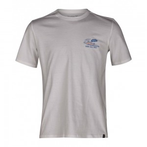 T-shirt Hurley Surf All Day Tee Ss White