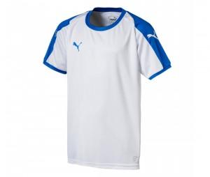 Maillot Puma Liga Blanc/Bleu