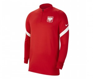 Training top Pologne Strike Rouge