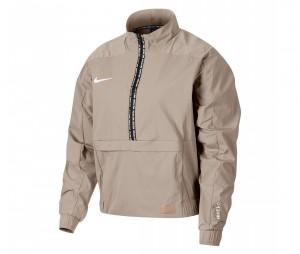 Sweat Nike F.C. Beige Femme