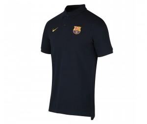 Polo Barça Crest Noir