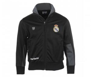 Veste Real Madrid Fan Noir/Gris