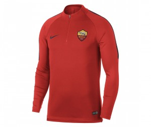 Training Top AS Roma Squad Rouge