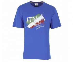T-shirt Graphique Italie Bleu Junior