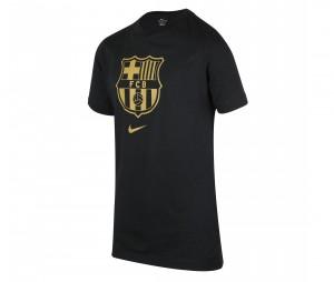 T-shirt Barça Crest Noir Junior