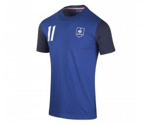 T-shirt France Dembélé Bleu Junior