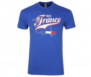 T-Shirt France Bleu