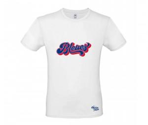 T-shirt France 'FIÈRES D'ÊTRE BLEUES' Blanc Mixte