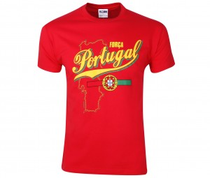 T-Shirt Portugal Rouge