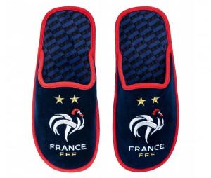 Pantoufles France Fan Bleu Junior