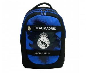 Sac à dos Real Madrid 2 compartiments Noir/Bleu