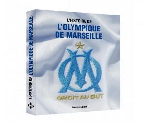 Livre 'L'histoire de l'Olympique de Marseille'