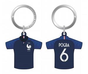 Porte-clés Maillot France Domicile Pogba 2018/19
