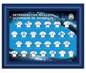Collection Pin's Rétro Maillot OM