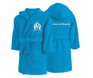 Peignoir OM Bleu Junior