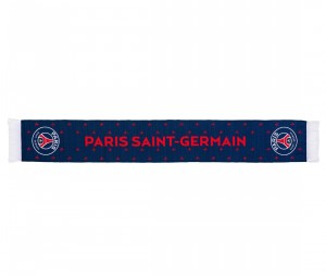 Echarpe PSG All Over Bleu/Rouge