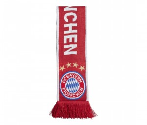 Echarpe Bayern Munich Rouge
