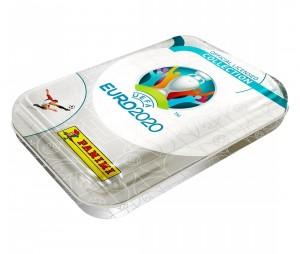 Boîte métal 60 Stickers Panini UEFA EURO 2020 Preview