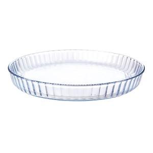 Plat à tarte verre borosilicate 26,5 cm Mathon