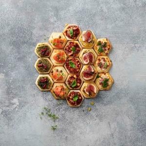 Pochoir pour mini-pizzas Betty Bossi