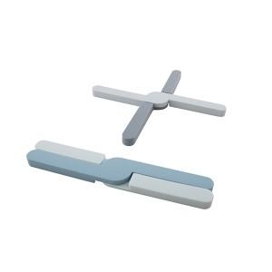 Dessous de plat pliable silicone 19,7 x 3,5 cm