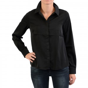 Chemise NA-KD Silky Button Up