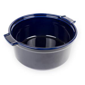 Moule à soufflé en céramique bleu Appolia diamètre 22cm