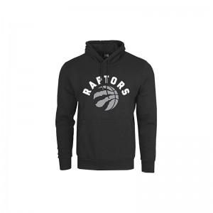 Sweat à Capuche NBA Toronto Raptors New Era Team logo Noir
