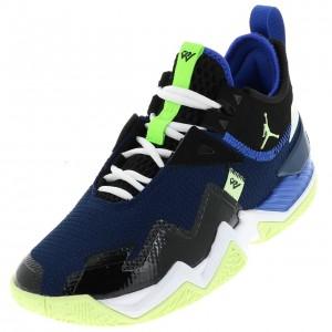 Chaussures Jordan westbrook one take Noires / vertes Homme