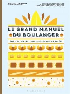 """Livre """"Le grand manuel du boulanger et vos rêves gourmands deviennent réalité"""""""