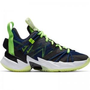 Chaussure de Basketball Jordan Why not zer0.3 SE (GS) Bleu marine pour junior
