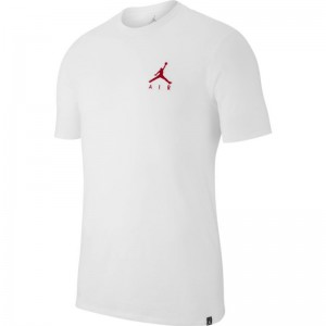 T-shirt Jordan Sportswear Jumpman Air Embroidered Blanc logo rd pour Homme