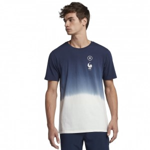 T-shirt Hurley France National Team Ss Obsidian