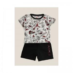 Ensemble T-shirt et short Jordan Knit 2 Pour Enfant