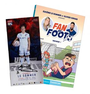 """Livre Fan de Foot Tome 3 """"Tricheur !"""" + Carte Dédicacée"""