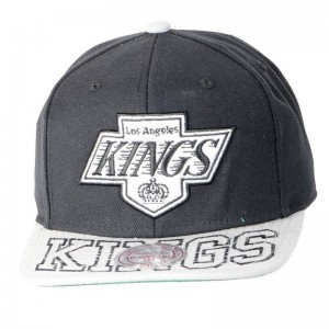 Casquette Mitchell And Ness Los Angeles Kings Noir / Gris