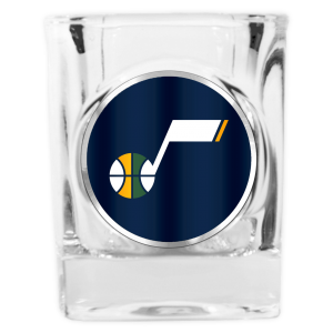 Great American Square Shot Glass Navy Primary