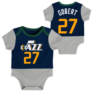Outerstuff In Referee Coverall Utah Jazz Rudy Gobert Navy
