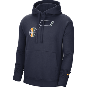 Nike 20 Logo Essential Fleece Hood Navy Primary