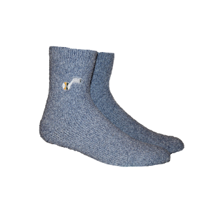 Pkwy Fuzzy Steps Sock Utah Jazz Navy