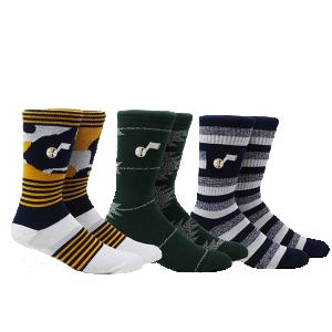 Pkwy Jazz Court 3 Pack Sock Utah Jazz