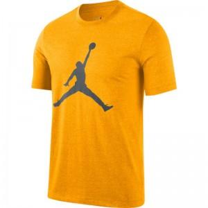 T-shirt Jordan Jumpman Crew Jaune