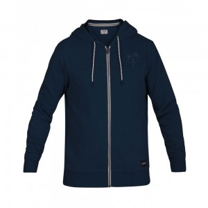 Sweat à Capuche Hurley Atlas Boxed Full Zip Blue